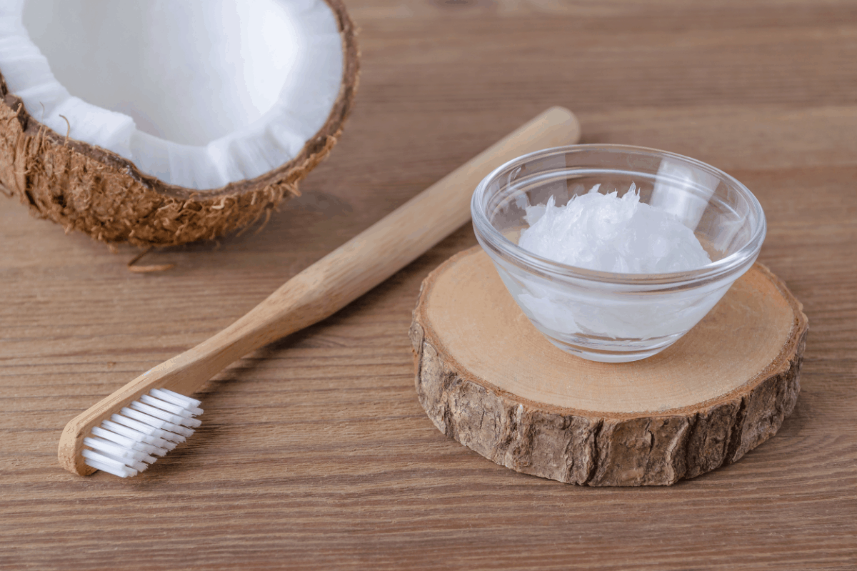 How to make coconut oil toothpaste without baking soda