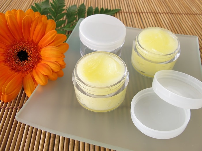 Natural Lip Balm for Dry Lips - Jar