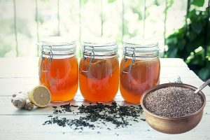 Benefits of Kombucha with Chia Seeds