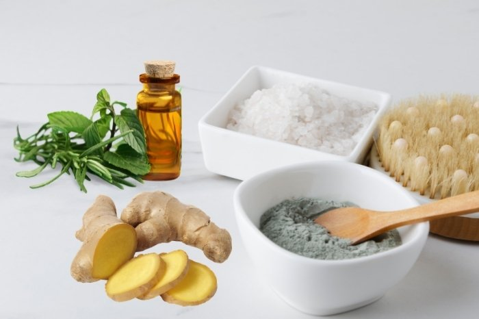 How to Make Ginger and Clay Bath Detox
